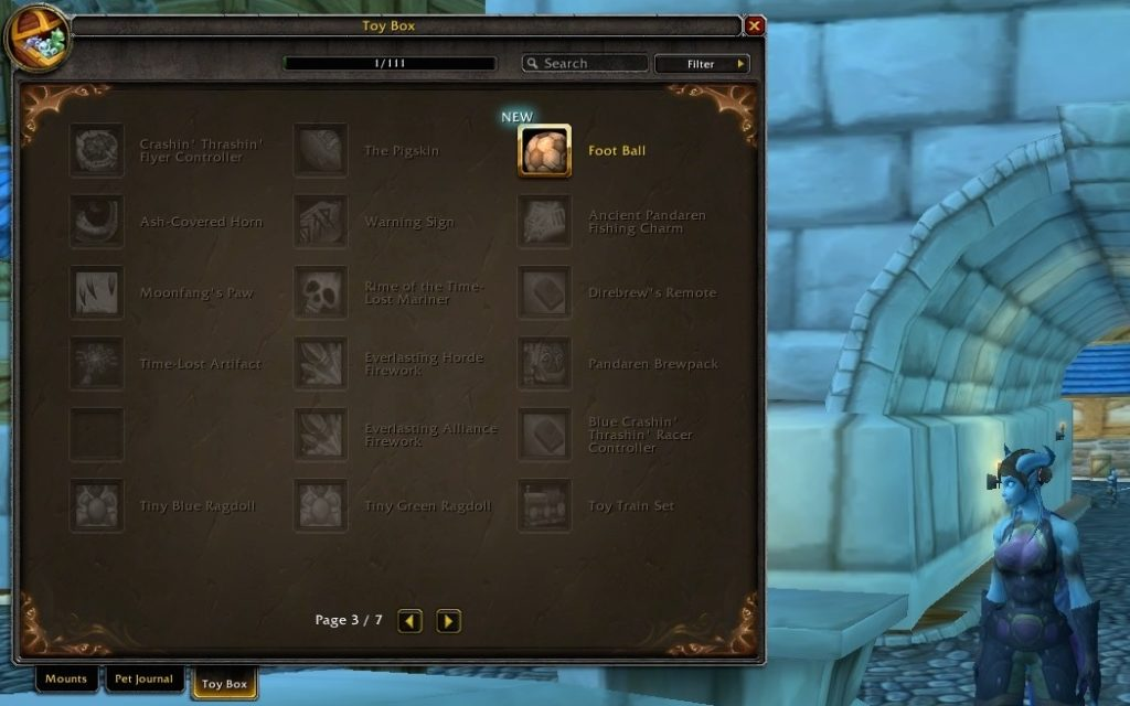 Warlords Of Draenor Beta We Got A Toy Box Book Of Jen