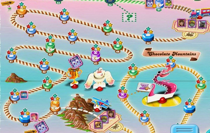 Candy Crush Saga: Chocolate Mountains – Book of Jen