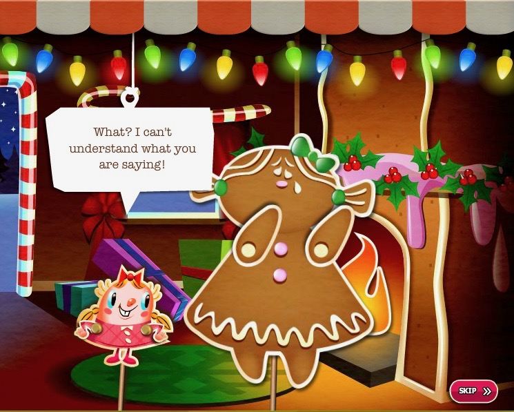 candy crush saga holiday hut book of jen