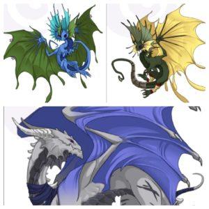 Flight Rising Level 9 Dragons Book Of Jen