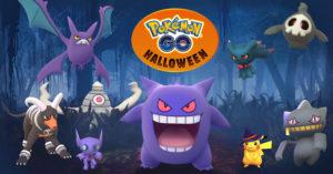 Pokémon GO: Halloween Celebration 2017