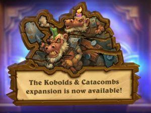 Hearthstone: Kobolds & Catacombs – Begin a Dungeon Run Quest