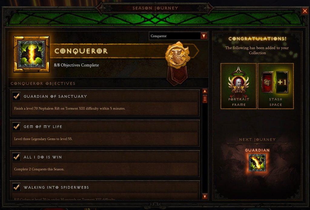 Conqueror (Season 13) – Book of Jen
