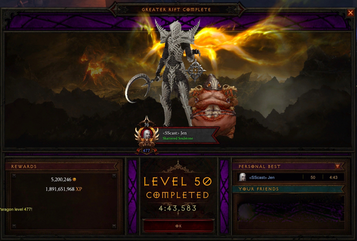 diablo 3 season 13 rewards