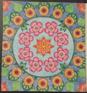 Johanna Basford Coloring Calendar – January