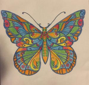 Johanna Basford Coloring Calendar – February