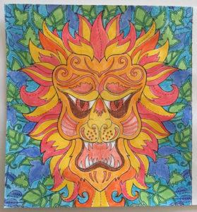 Johanna Basford Coloring Calendar – March