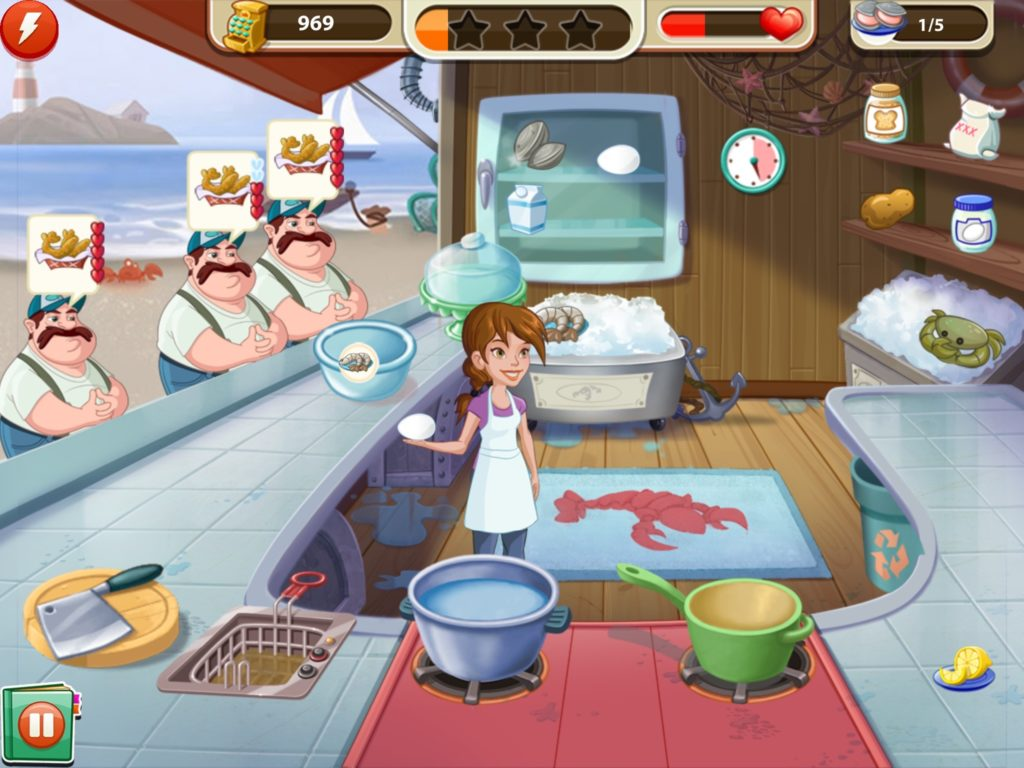 Kitchen Scramble App: Chowderville – Book of Jen