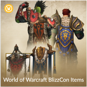 World of Warcraft: BlizzCon 2018 Virtual Ticket Items