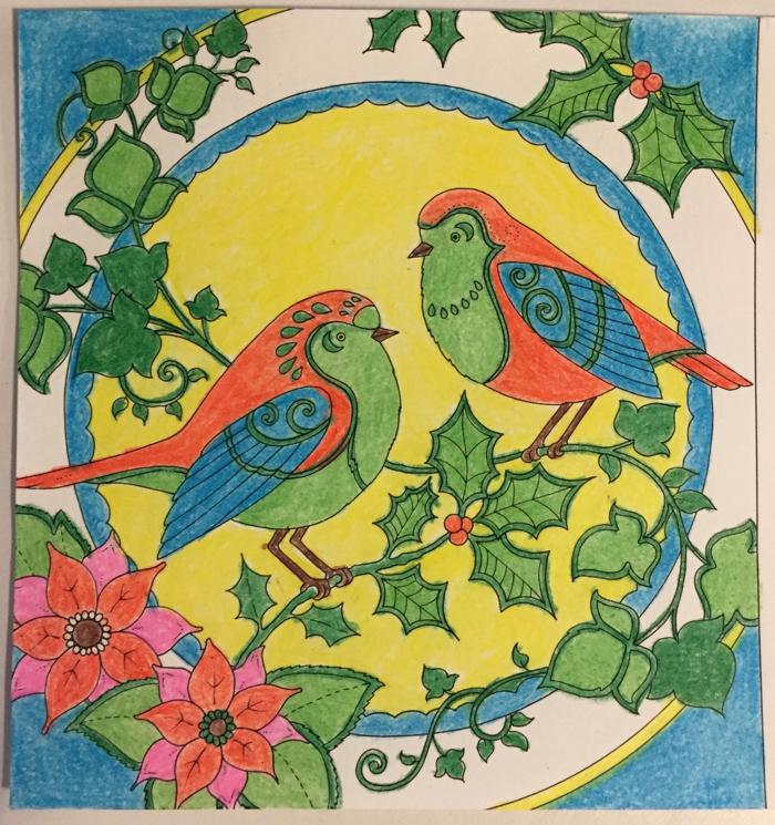 Johanna Basford Coloring Calendar – December
