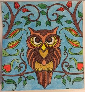 Johanna Basford Coloring Calendar – May