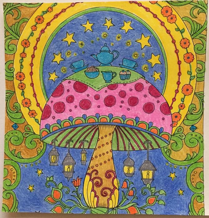 Johanna Basford 2019 Coloring Calendar – March