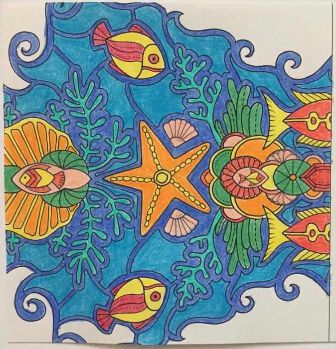 Johanna Basford 2019 Coloring Calendar – May