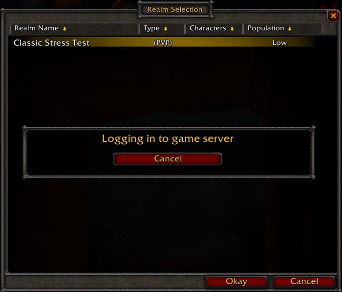 What the WoW Classic Stress Test was Like – Book of Jen