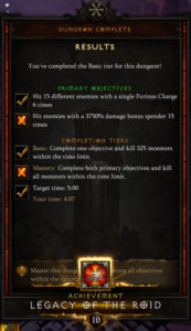 Season 17 (Season of Nightmares) Set Dungeon