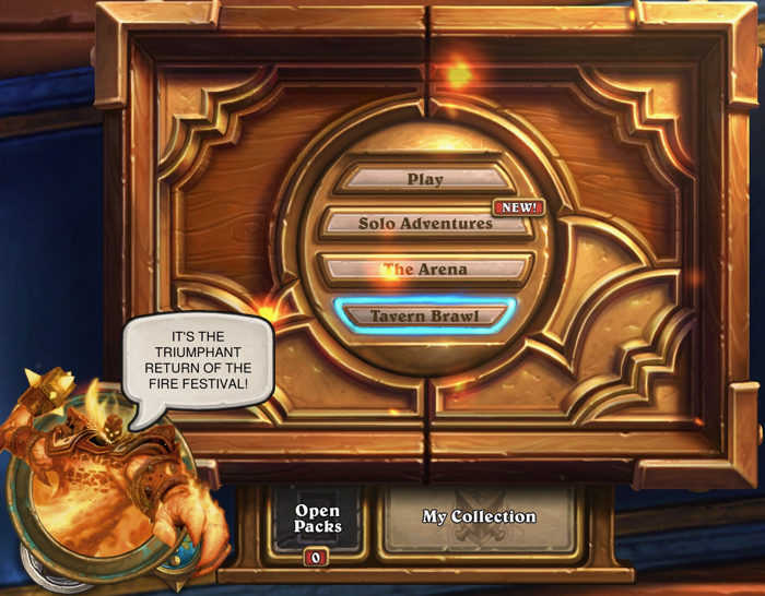 Hearthstone Fire Fest-E V I L  – Book of Jen