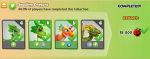 Dragon Mania Legends: Seedling Dragons Collection