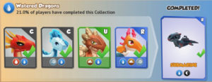 Dragon Mania Legends: Watered Dragons Collection