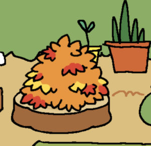 Neko Atsume: Pile of Leaves