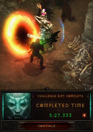 Season 22: Barbarian Challenge Rift