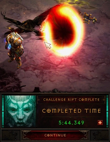 Season 23: Demon Hunter Challenge Rift