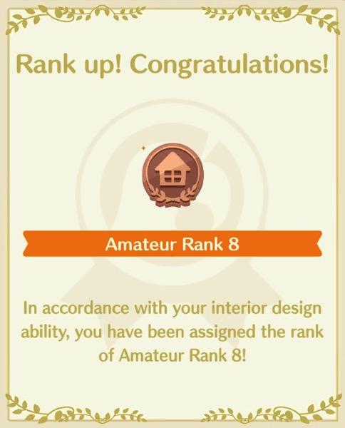 Amateur Rank 8!