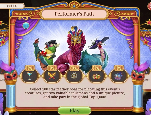 Seekers Notes: Placating Performer's Path Creatures