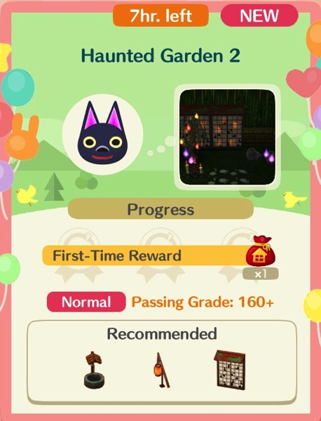 Haunted Garden 2 is the second class in the series.